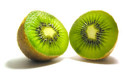 Pieces of kiwi Stock Photos