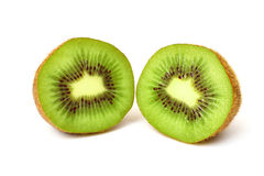 Pieces of kiwi Stock Images