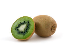 Pieces of kiwi Stock Photography