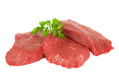 Pieces of meat Royalty Free Stock Photography