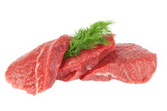 Pieces of meat Royalty Free Stock Image