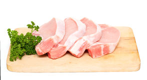 Pieces of meat Stock Image