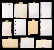 Pieces Of Paper Stock Images