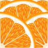 Pieces of orange. Stock Photos
