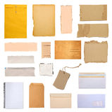 Pieces of paper Royalty Free Stock Photo
