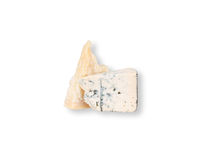Pieces of parmesan and blue cheese Royalty Free Stock Photo
