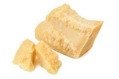 Pieces of parmesan Stock Photos