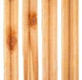 Pieces of pine slats Stock Photo
