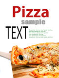 Pieces of pizza Royalty Free Stock Image