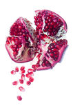 Pieces of pomegranate Royalty Free Stock Photography