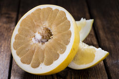 Pieces of Pomelo Stock Photography