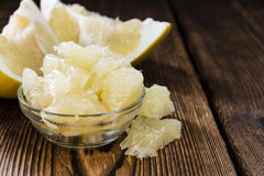 Pieces of Pomelo Royalty Free Stock Photo