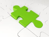 Pieces of a puzzle Royalty Free Stock Images