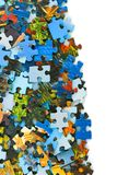 Pieces of puzzle Stock Image