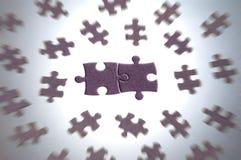 pieces puzzle Стоковая Фотография