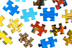 Pieces of puzzle Royalty Free Stock Photography