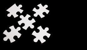 Pieces of the puzzle Stock Photos