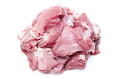 Pieces of raw meat Royalty Free Stock Photos