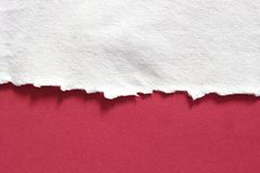 Rip torn paper texture background. Pieces of rip torn paper texture background, copy space Stock Images