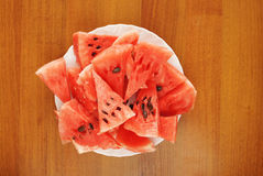 Pieces of ripe watermelon Stock Photography
