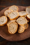Pieces of rusk Stock Image