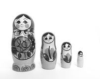 Russian matryoshka royalty free stock photos