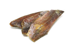 Pieces of salted fish Stock Photography