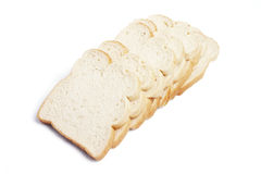 Pieces of Sliced Bread Stock Photography