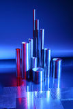 Pieces of stainless Stock Photography