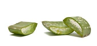 Pieces of steams of Aloe vera Stock Photo