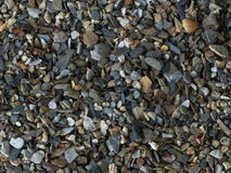 Pieces of stone. On the riverbank Royalty Free Stock Photo