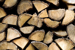 Pieces to burning wood - background Stock Image