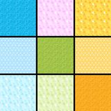 Background color. 9 pieces in various colors background Royalty Free Stock Photos