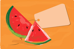 Pieces of watermelon Royalty Free Stock Images