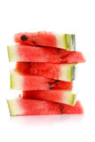 Pieces of watermelon Stock Images