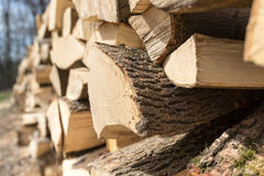 Pieces Of Wood Royalty Free Stock Photo