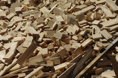Pieces of wood 3 Royalty Free Stock Photography