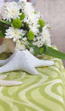 Piecetable center piece. table decoration Royalty Free Stock Photo