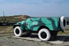 Piechota pojazd bojowy Pojazd wojskowy dla żołnierzy na polu bitwy Obrazy Royalty Free