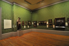 Piechur galeria sztuki Liverpool Obrazy Royalty Free