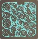 pieczęć, rolka abstrakcyjne Fotografia Stock