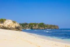 Pieczarkowa plaża, Nusa Lembongan Zdjęcia Stock