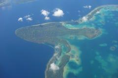 Pieczarkowa wyspa Zdjęcia Royalty Free