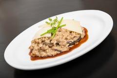 Pieczarkowy risotto Fotografia Stock