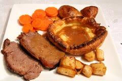 pieczeń lunch wołowiny zdjęcia royalty free