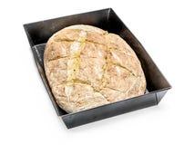 piecze chleb dom Zdjęcia Royalty Free