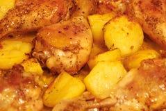 pieczeń z kurczaka Zdjęcie Royalty Free