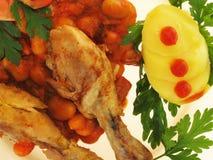 pieczeń z kurczaka Obrazy Stock
