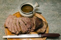 Pieczona wołowina fotografia stock