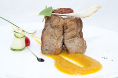 Pieczona wołowina Zdjęcia Stock